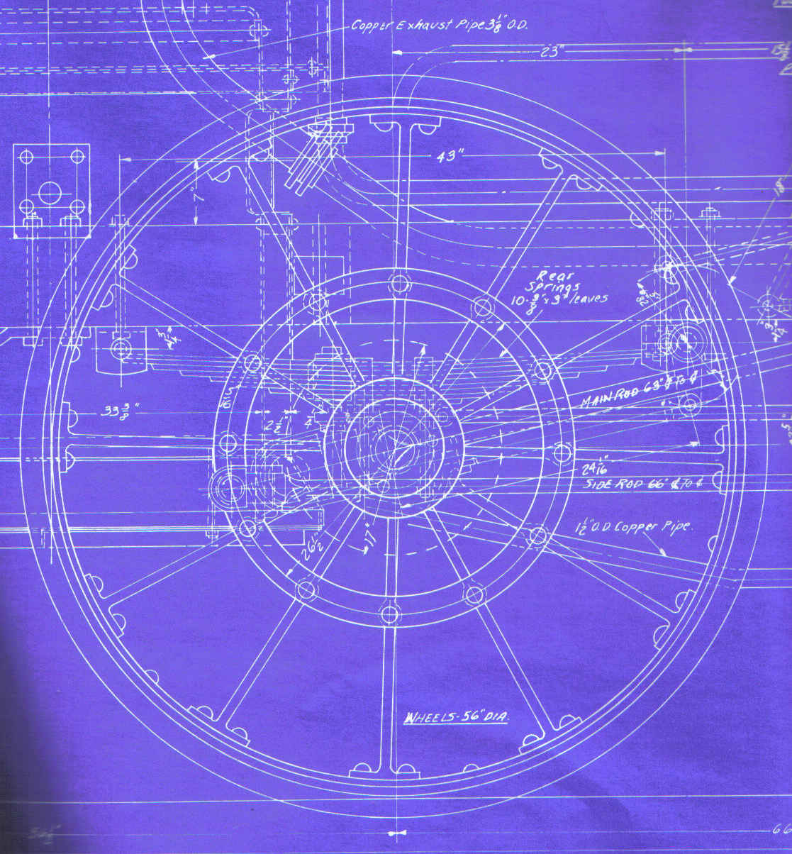 Rrird B3 Blueprint Engine Diagram Reduced Scale Of In Black Line